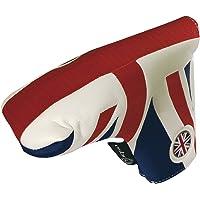 Asbri Golf Unisex's UK Patriot Putter Cover, White