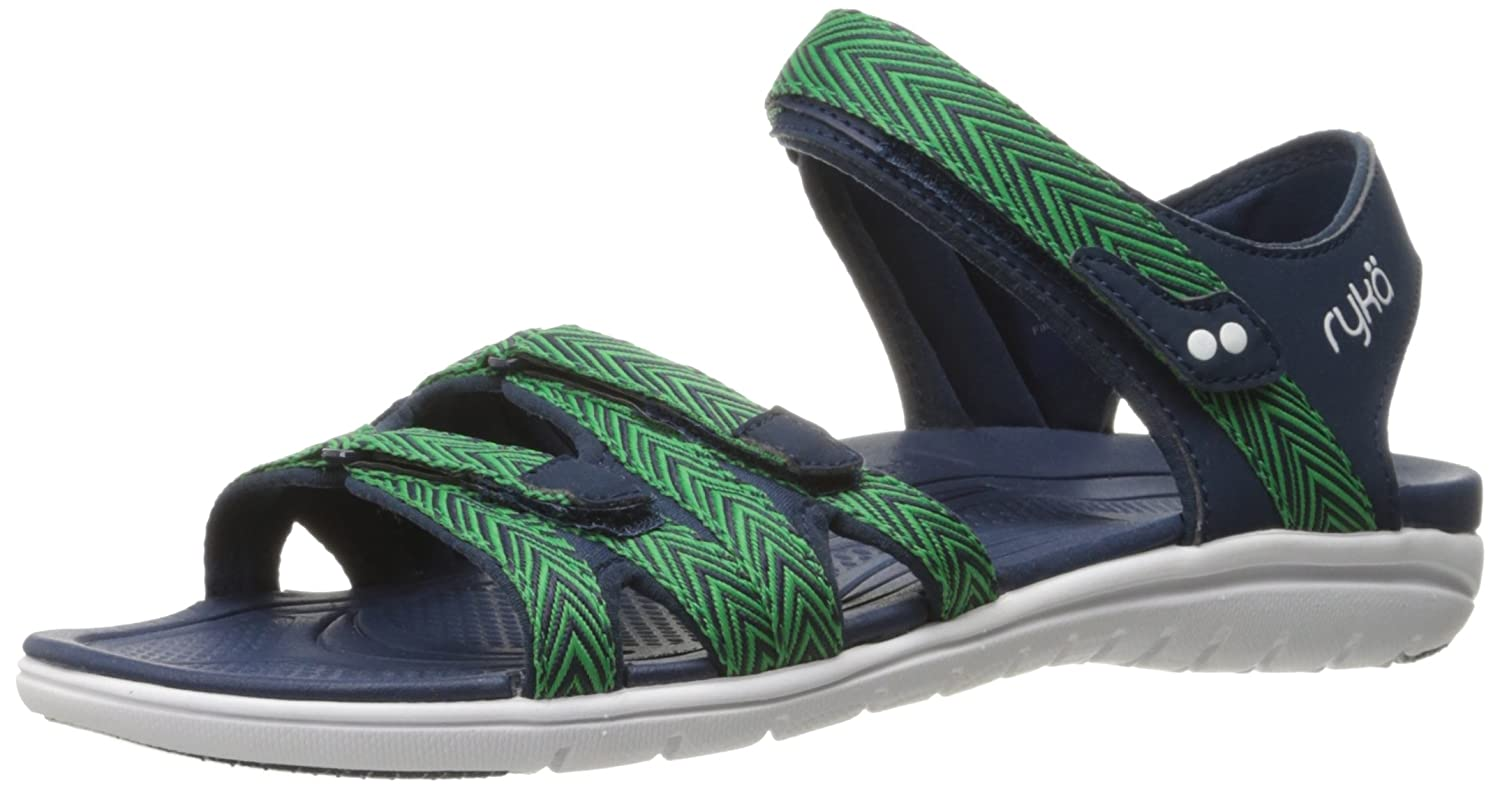 Ryka Women's Savannah Sandal B01KWH4T7U 7 W US|Navy/Green