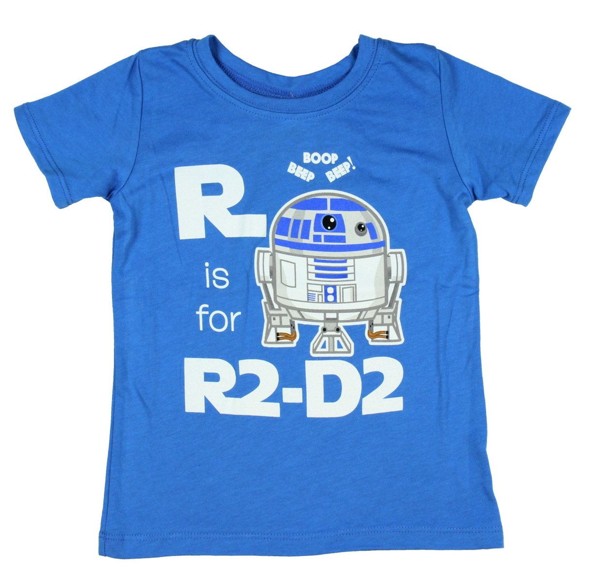 Star Wars R is for R2-D2 Toddler T-Shirt - Blue (5/6T)