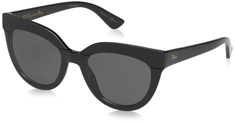 Dior DIORSOFT1 Y1 D28 51 Gafas de sol, Negro (Shiny Black ...