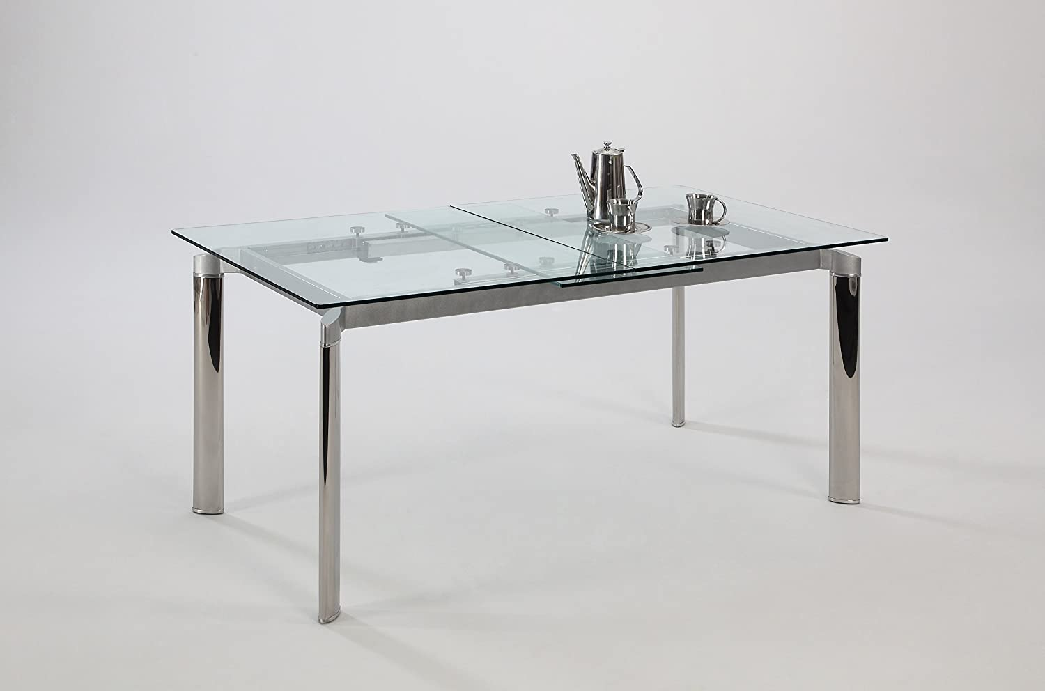 extendable glass dining tables