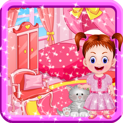 Room decoration games for girls with baby for Baby room decoration games online