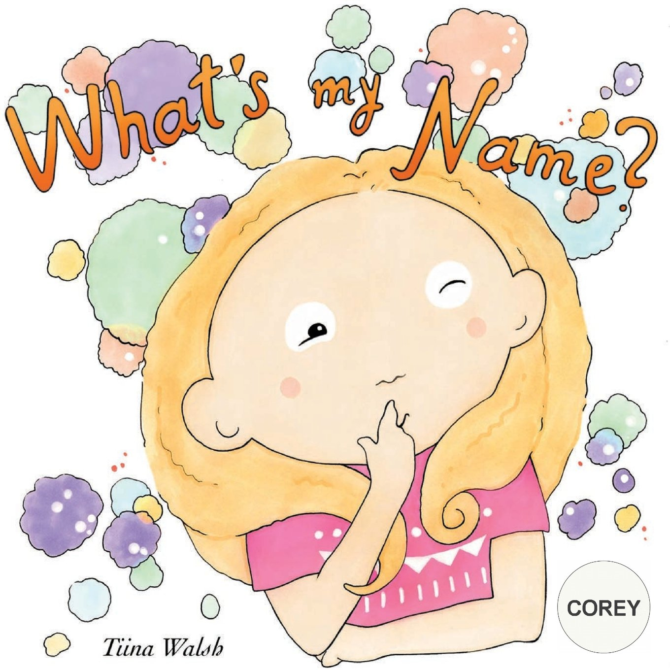 What's my name? COREY ebook