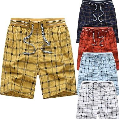 Pantalones Hombre Chandal Cortos Verano Tallas Grandes Moda ...