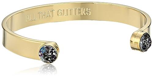 bd302733eac4 Kate Spade New York oro Patina Cuff pulsera: Amazon.es: Joyería