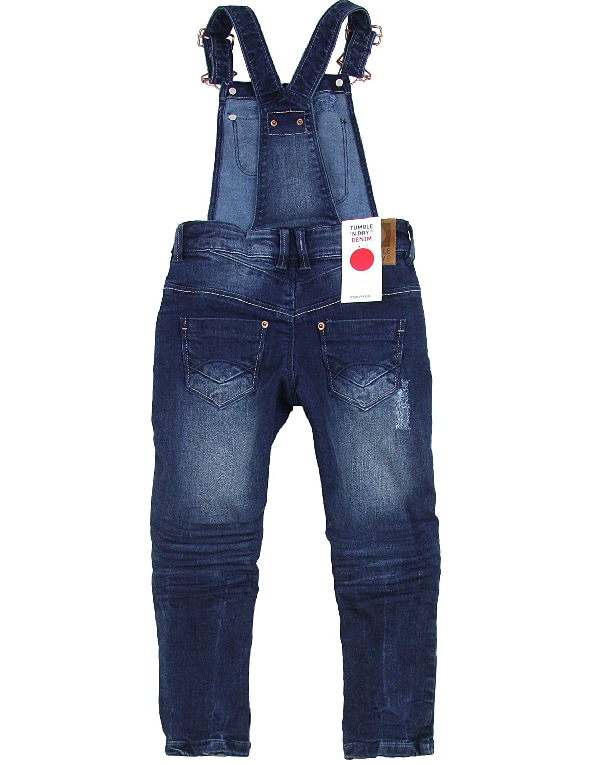 Tumble n Dry Girls Denim Pants with Suspenders Fanna Sizes 4-10