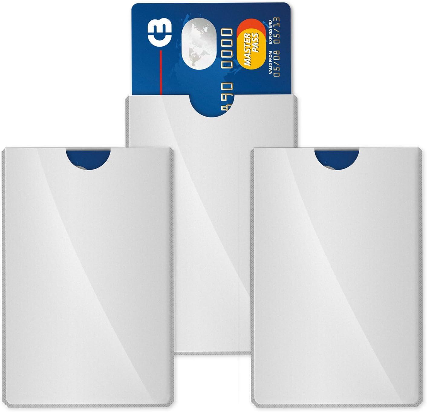 Fibatec 3 Stück Rfid Schutzhülle Nfc Schutzhülle Computer Zubehör