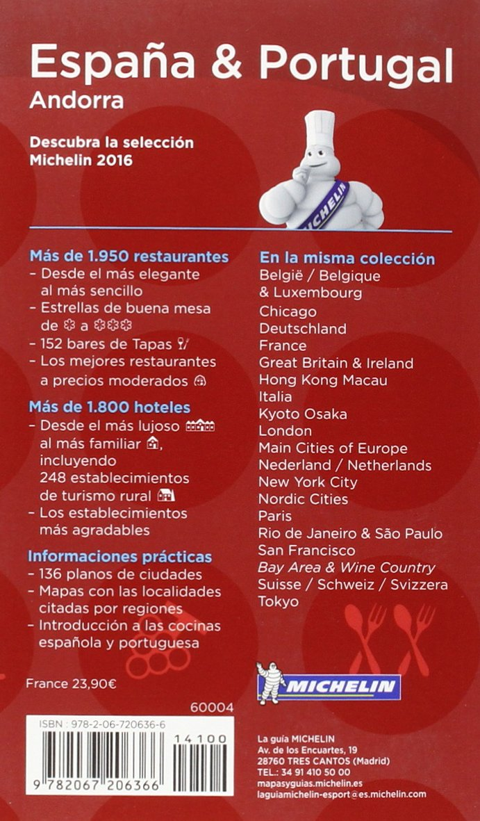 La guia Michelin España & Portugal : Hoteles & Restaurantes Le Guide rouge: Amazon.es: Michelin: Libros en idiomas extranjeros