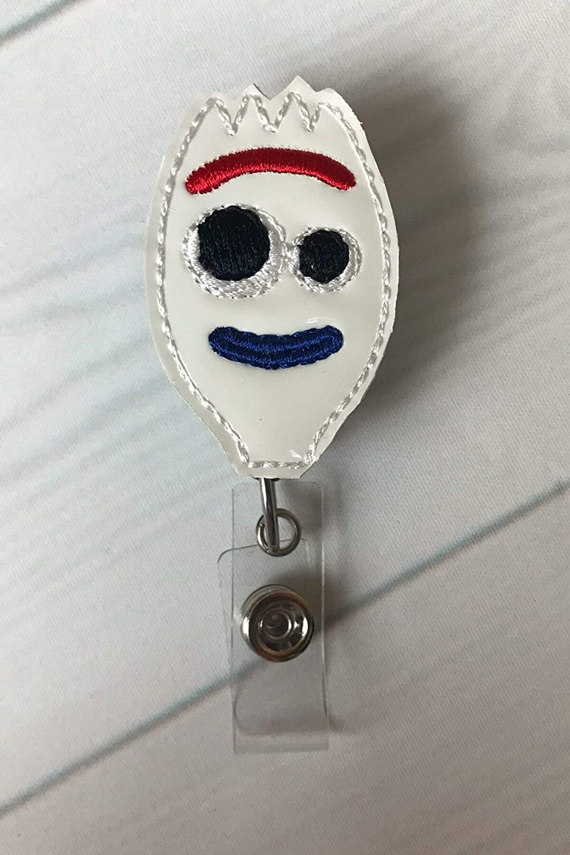Alligator Clip ~ Badge Reel ~ Cute Badge Reel ~ Nurse Badge Reel ~ Forky ~ Retractable Badge Reel ~ Toy