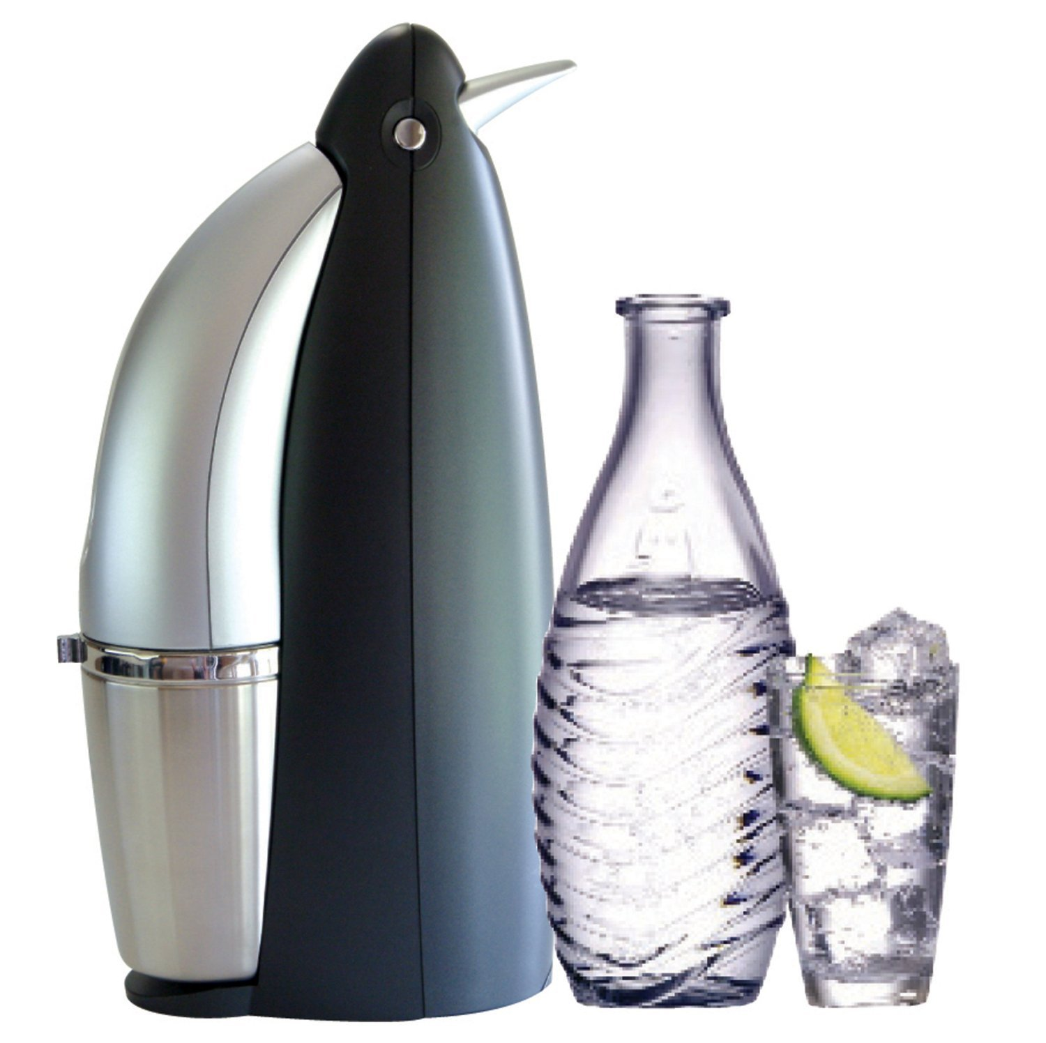 Amazon Sodastream Penguin Earth Friendly Glass Carafe Soda