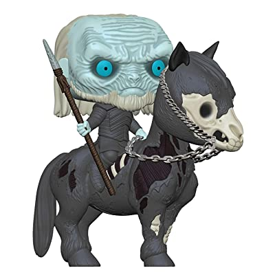 Funko Pop! Rides: Game of Thrones - White Walker On Horse, Multicolor, Standard: Toys & Games
