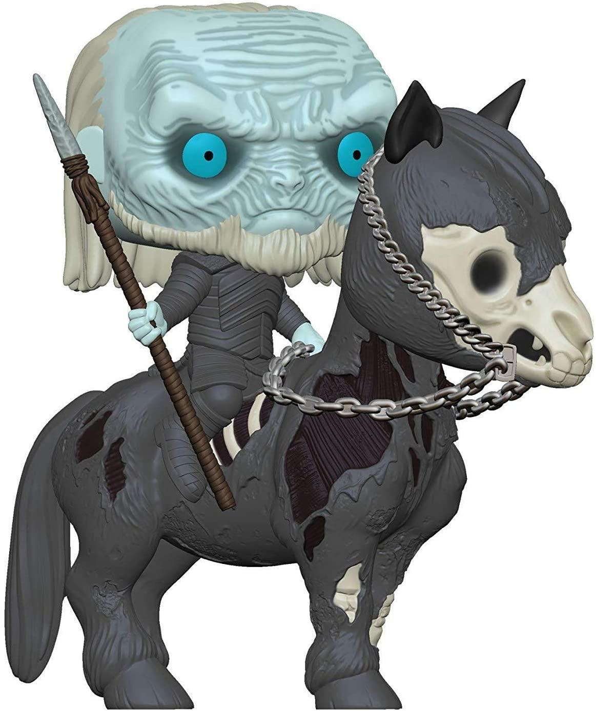 Ride personnage Game of Thrones-White Walker sur cheval Funko POP