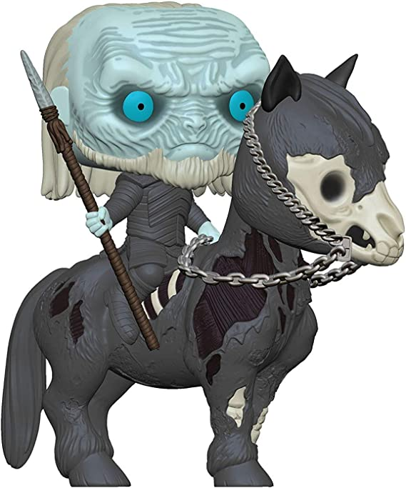 Funko- Pop Rides: Game of Thrones S10: White Walker on Horse ...