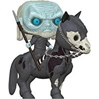 Funko - Pop! Rides: Game of Thrones S10 - White Walker on Horse Figura Coleccionable, Multicolor (37669)