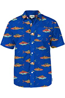 a9a4e1b4 Men's Bright Hawaiian Shirts for Spring Break and Summer - Aloha Shirt for  Guys