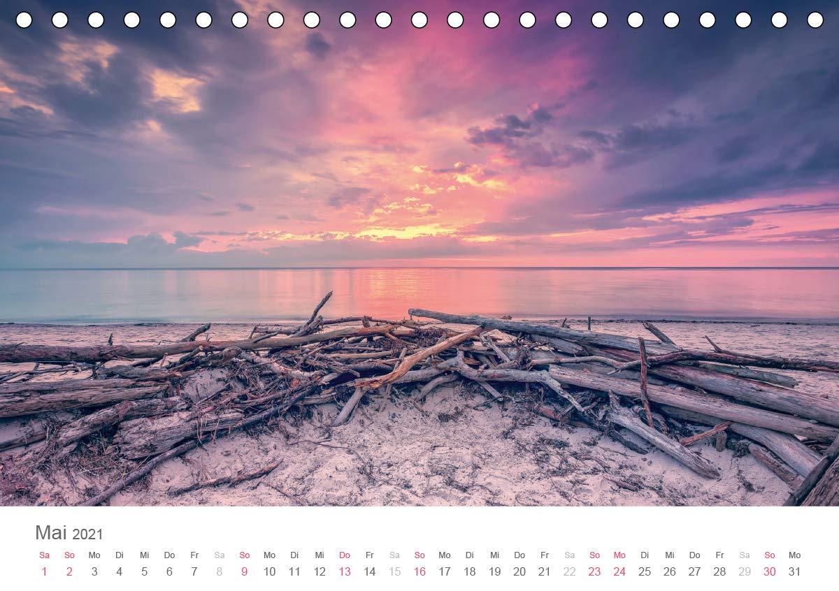 Halbinsel Fischland Darß Zingst Tischkalender 20 DIN A20 quer ...