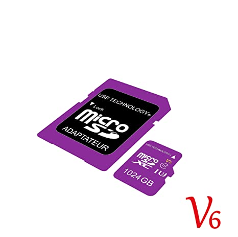 Tarjeta de Memoria Micro SD V6 de 1024 GB (1 to - 1 TB): Amazon.es ...
