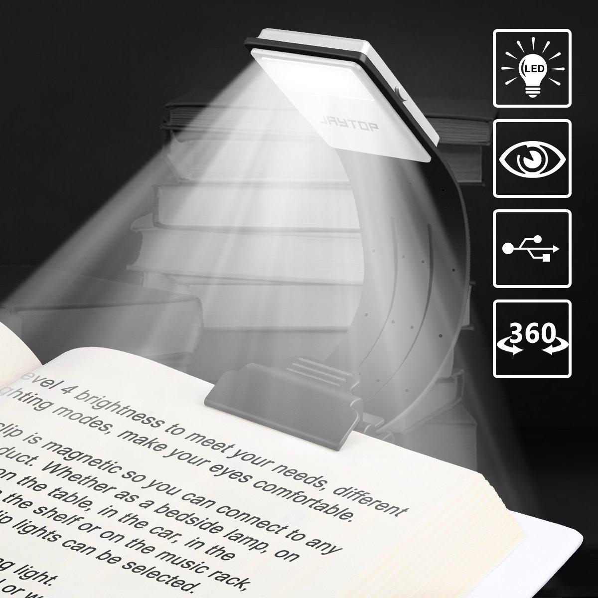 Lampe De Lecture Lampes Livre Liseuse Rechargeable Livre Led Avec