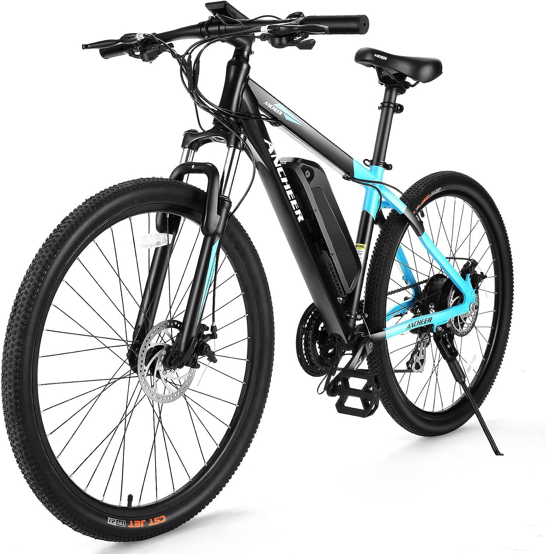Ancheer New Electric Mountain Bike