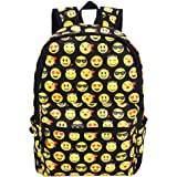 Emoji Backpack for Traveling or Shopping Casual Daypacks School Shoulder Bags