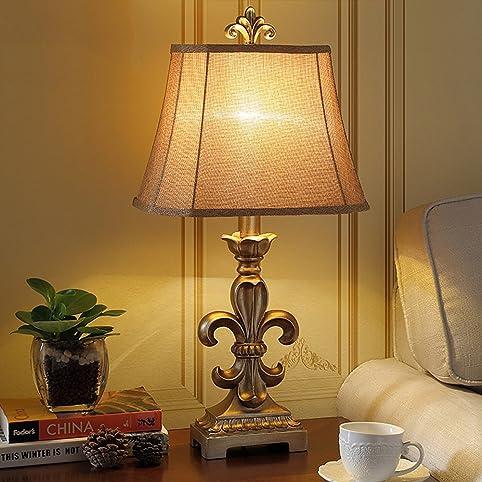 Global- Europeo lampada da tavolo di lusso della lampada in resina ...