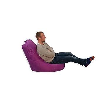 bean bag pouf intrieur extrieur jardin coussin pour fauteuil relax fauteuil pour enfant violet - Relax Exterieur