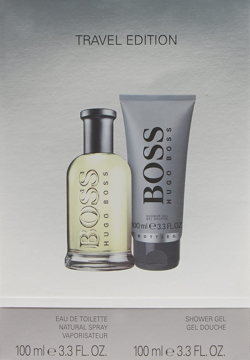 Boss Bottled Set for Men contains Eau de Toilette 100 ml and Showergel 100 ml Procter & Gamble 1B54026 49104