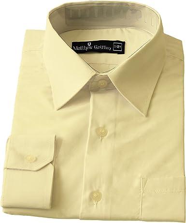 Matthew Griffin - Camisa formal para niños (12 meses), 14 años: Amazon.es: Ropa y accesorios