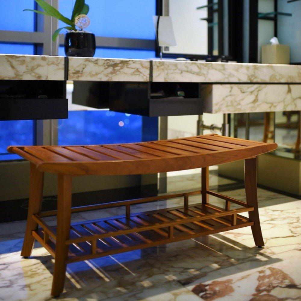 Estate Spa - Multi-Purpose Bench Seats/Storage | Solid Wood, Brown [RP-250383]