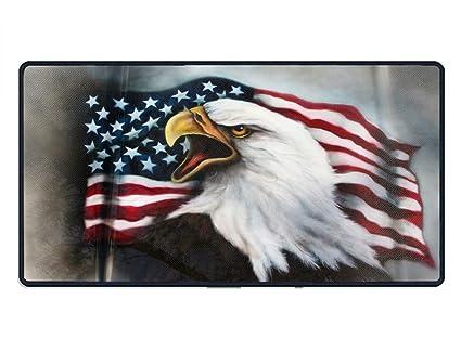 5166279f5 Amazon.com : American Bald Eagle Tattoos Mousepad - Natural Rubber ...