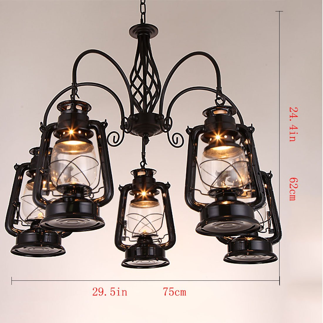 Amazon com qzy vintage chandelier dietz style millennium lighting