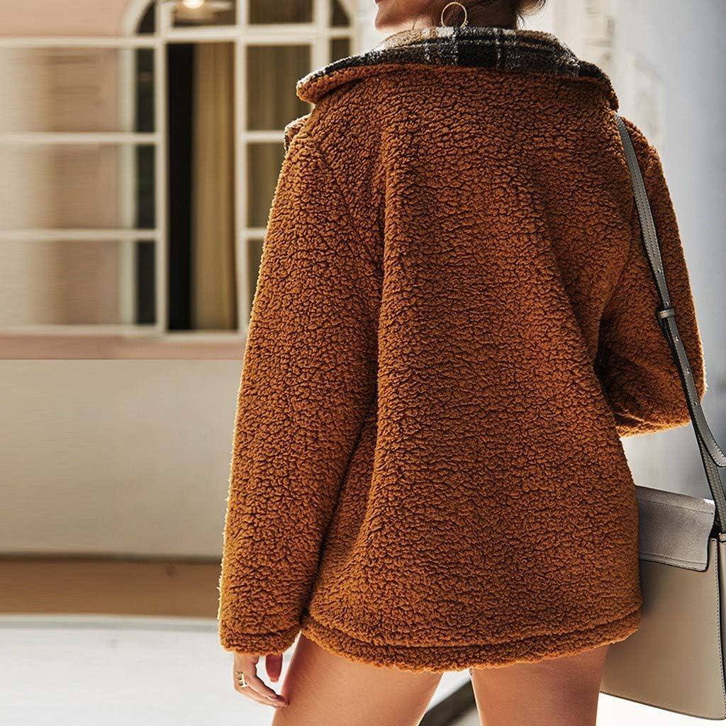GLVSZ Womens Hooded Leopard Print Full Zip Up Sherpa Fuzzy