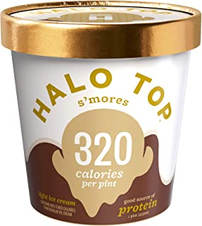 product image for Halo Top, S'mores Ice Cream, Pint (4 Count)