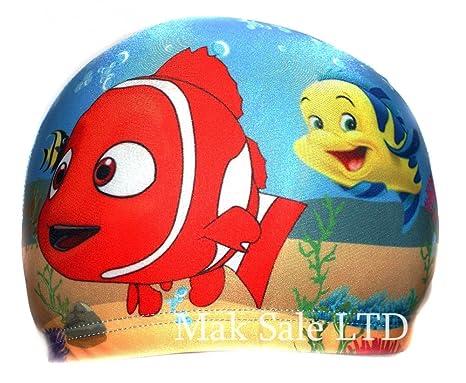 Cuffia da piscina in tessuto per bambini 39ea478b1df9