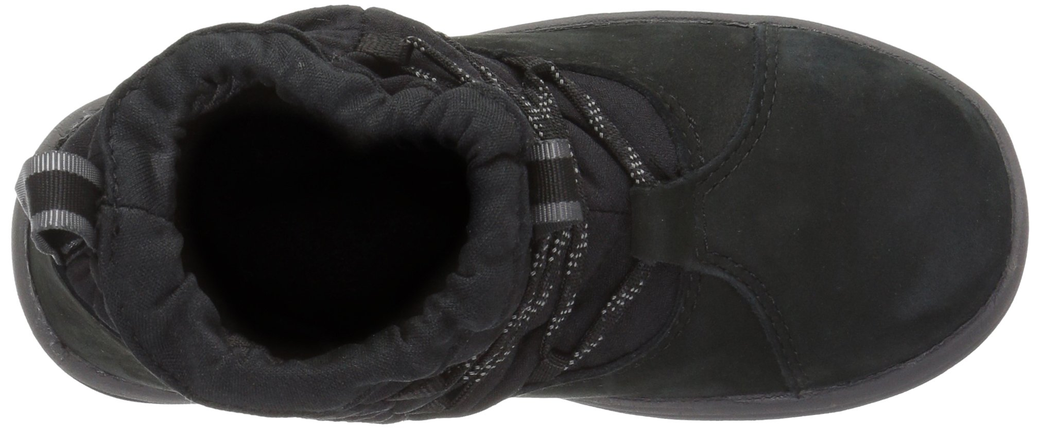 Timberland Unisex Toddle Tracks Warm Fabric Leather Bootie Snow Boot Black Nubuck 12 M US Little Kid by Timberland (Image #8)