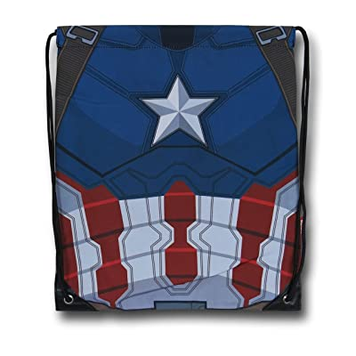 lovely Smart Living Company Captain America Cinch Sac (Certified Refurbished)