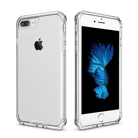 bf39894b8a9 doupi PerfectFit AirClear Funda para iPhone 8 Plus / 7 Plus (5,5 Pulgada