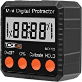 Tacklife MDP02 Advanced Digital Protractor Level / Angle Gauge / Angle Finder with Automatic Shutdown, Magnetic Based, Battery Included for Miter Saw / Automobile Test and Repair and ect
