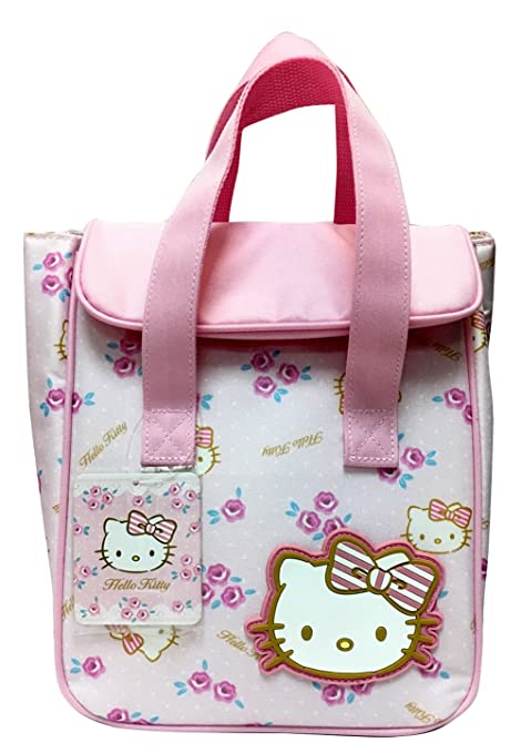 Image Unavailable. Image not available for. Color  SANRIO HELLO KITTY LUNCH  BAG PINK ROSE 4cd6d9f8f3906