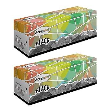 Acceprint 17A/CF217A Paquete de 2 Cartuchos de tóner Negro para HP ...