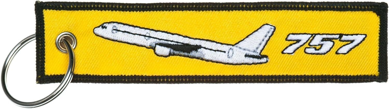 Schlüsselanhänger Follow Me Boeing 757 Inkl Schlüsselring Auto