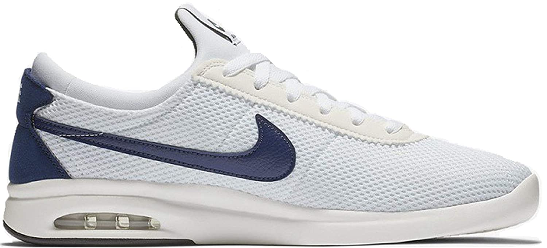 promo code 431ea 0ab22 Amazon.com   Nike SB AIR MAX Bruin VPR TXT Mens Skateboarding-Shoes  AA4257-100 10 - White Blue Void-Midnight Green   Skateboarding