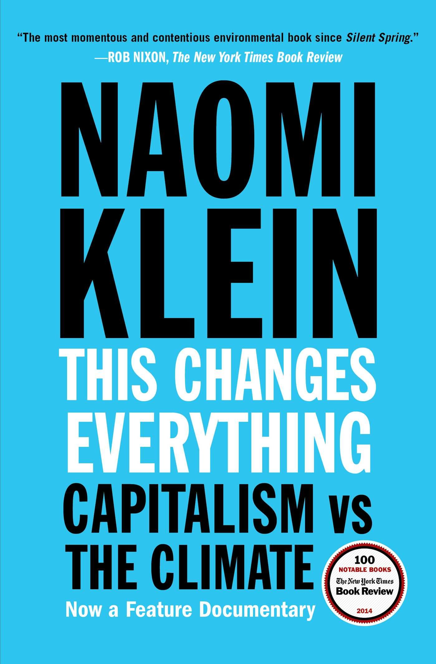This Changes Everything Capitalism Climate product image