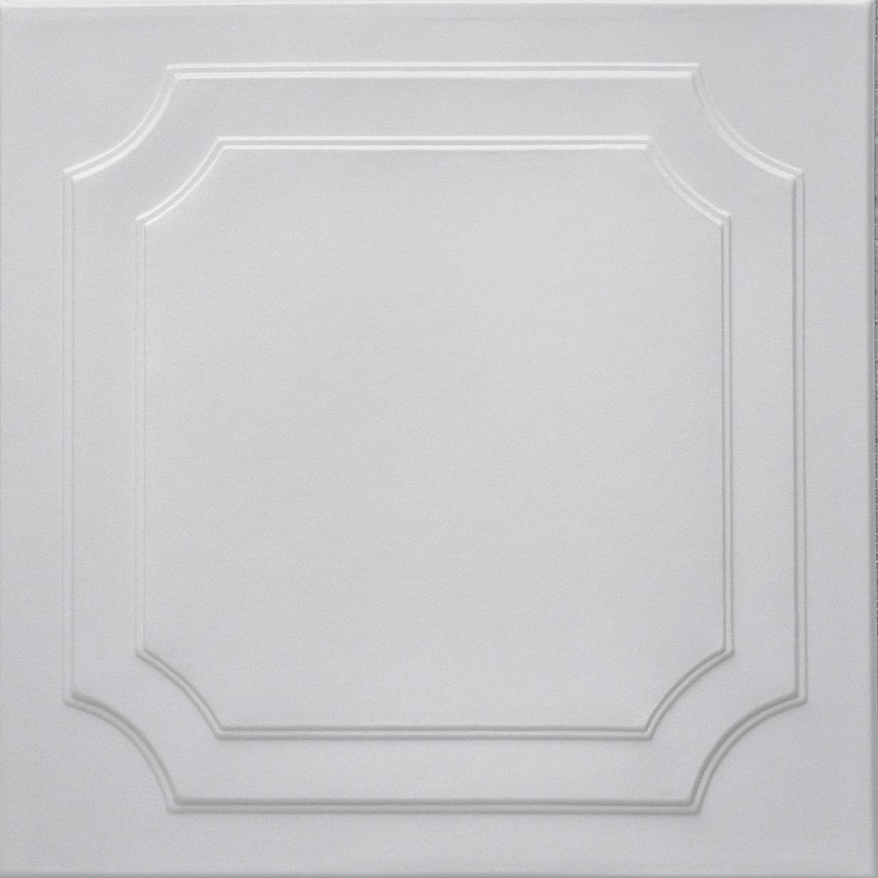 Easy to Install RM-08 Polystyrene (Styrofoam) Decorative Ceiling Tiles to Cover Popcorn Or Any Flat Surface Ceiling. Pack of 8 White Ceiling Tiles. Sale!!! TRM