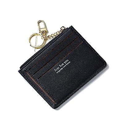 Women Men Lady Wallets Purse Zipper PU Small Mini Soft Thin For Money Card Coin