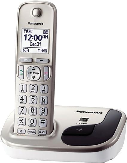 Panasonic KX-TGD210N Expandable Digital Cordless Phone with 1 Handset