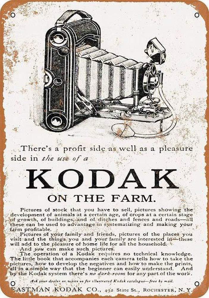 WallAdorn Cámaras Kodak Cartel de Hierro Pintura Cartel de ...