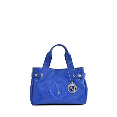 27938eba5ae5b Tasche Royal 052355580 Jeans Armani Damen Blau Vernice nOwkX80P