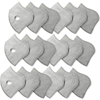 BASE CAMP Authentic Parts, Active Carbon N99 Filters for Mesh or Neoprene Mask, 6 Pack