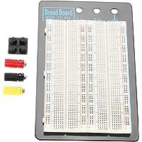 Akozon Tablero de circuitos sin soldadura Protoboard 1660